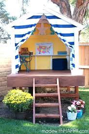 outdoor fort building kit designs backyard
