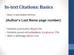 mla scientific paper mla source integration ppt download