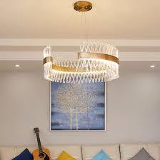 european luxury dining room modern large crystal led lighting chandelier