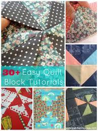 30+ Easy Quilt Block Tutorials - & 30+ easy quilt block tutorials   patchwork posse Adamdwight.com