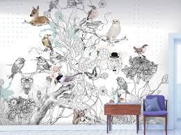 Kinderkamer Behang Op Maat Gemaakt Behang Droomdieren