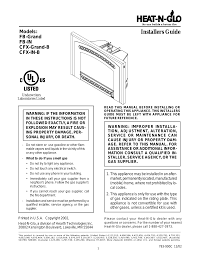 heat glo fireplace heat n glo fb in user manual 23 pages also for heat n glo cfx grand b heat n glo fb grand heat n glo cfx in b