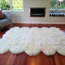 777 00 select options sheepskin rug ecowool deca ivory