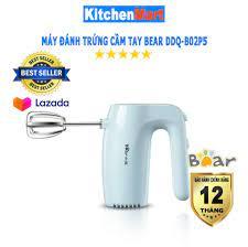 Máy Đánh Trứng cầm tay Bear DDQ-B02P5 (Hàng chính hãng - Bảo hành 12 tháng)  - KitchenMart