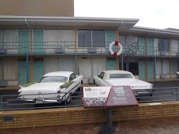 the balcony of the lorraine motel where dr martin luther king jr was shot