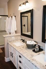white bathroom cabinets with granite. bathroom design : light granite black and white cabinets with t