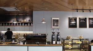 If you grind your own beans, you will notice that your resulting coffee tastes a little fresher, bolder, and better. The Coffee Sessions Slayer Espresso Machine Compak Grinders Cafe Bar View Slayer Espresso