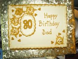 80th Birthday Cake Ideas A Wonderful Birthday Cake