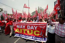 Image result for MAY DAY IN INDIA PHOTOS