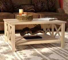 farmhouse x sides coffee table