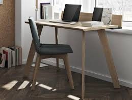 office desks contemporary. Temahome Loft, Modern Study Desk In Oak And Matt Black With Phone Tablet Slots Office Desks Contemporary R