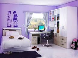 image of girly bedroom decorating ideas purple