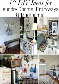 check out these 12 diy ideas for laundry rooms entryways
