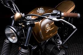 cafe racer grips brown leather tape google search steel bmw r65 by jerikan return of the cafe racers