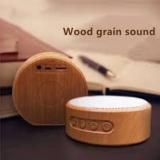 <b>Retro Mini</b> Plug in Card Subwoofer Wireless Speaker <b>Wood Grain</b> ...