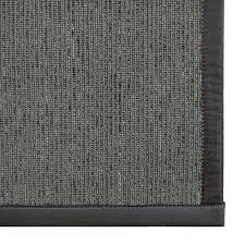 perfect synthetic jute rug pad from imagine rugs marica synthetic sisal charcoal area rug