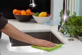 Smart Kitchen Smart Kitchen Line In Gray Or Green Color Combination Microfiber
