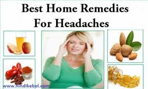 Home treatment for cold and headache