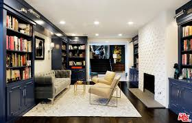 Modern home library design Simple The Home Library Features Mix Style Of Modern Look And Classic Cabinets And Bookshelves Home Stratosphere 20 Home Library Design Ideas For 2019