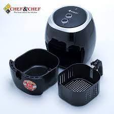 Nồi chiên không dầu Chef & Chef 7,7L YJ 707 - Điện Máy Đăng Khoa Hải Phòng  - Đồ gia dụng chính hãng giá cực rẻ