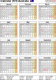 april 2018 word calendar australia calendar 2018 free word calendar templates