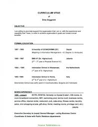 Briliant Program Manager Resume Objective Examples Project Manager
