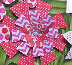 Glace Paper Flower How To Make Simple Paper Flowers Snapguide