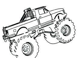 Coloring Pages For Kids Trucks At Getdrawingscom Free For