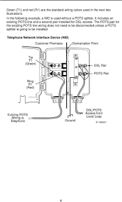 wiring diagram for standard phone jack images wiring tip and ring rj11 telephone cable rj11 connector wiring diagram