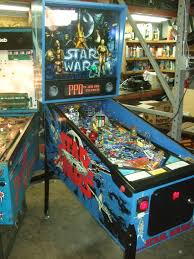 Star Wars Cabinet Data East Star Wars Pinball Machine With Death Star R2d2 Led