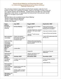 Board Report 100 Board Report Templates Free Sample Example Format Download 2