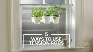 Small Kitchen Apartment Therapy 15 Uses For Tension Rods Youve Never Thought Of Apartment Therapy