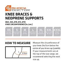 Shock Doctor Hinged Knee Brace Maximum Support Compression Knee Brace For Acl Pcl Injuries Patella Support Sprains Hypertension And More For Men