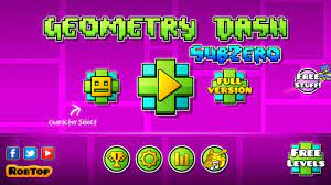 Geometry Dash SubZero 1.00 - Download für Android APK Kostenlos