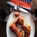 big john s grilled chicken with gouda sauce   cilantro pesto