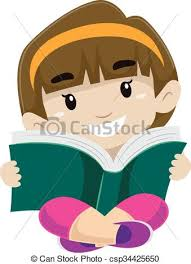 kid reading a book csp34425650