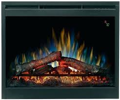 plug in electric fireplace insert inch contemporary convertible