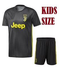 Best Football Jersey Design 2018 Juventus 3rd Kids Jersey With Shorts 2018 19 Football Kit