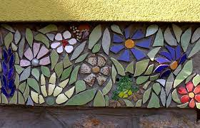 pin on mosaic flowers and plants