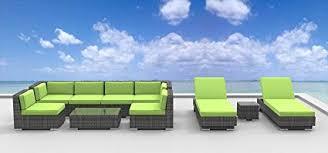 modern wicker patio furniture. Brilliant Wicker Urban Furnishingnet  Ibiza 10pc Modern Outdoor Backyard Wicker Rattan  Patio Furniture Sofa Sectional Intended R