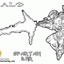 Small Picture From Halo Reach Coloring Pages