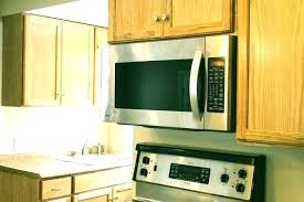 Cabinet Depth Microwaves Under The How To Mount A Microwave  Hunker   Dimensions E69