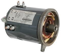 stock performance motors general electric rebuilt motor clubcar iq high speed 3 5hp 3775 rpm 48 volts sepex motor