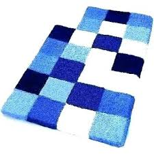 brown and blue bathroom rugs bath royal awesome navy large rug