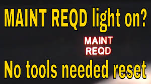 2017 Prius Maintenance Light Reset How To Reset Maint Reqd Light On Toyota Prius Hybrid Vehix411