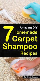 7 diy homemade carpet shampoo recipes including diy recipes of natural carpet cleaner for light