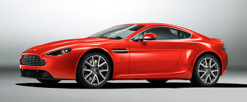 Aston Martin Vantage Side Medium View