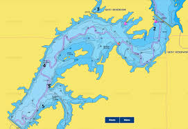 Geist Reservoir Depth Chart Map North East Geist Indiana Map