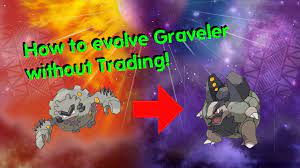 How to evolve Graveler without trading in Pokemon Sun Moon - YouTube