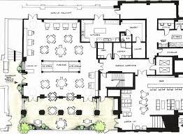 Magnificent Layout Kitchen Restaurant Elaboration Best Kitchen